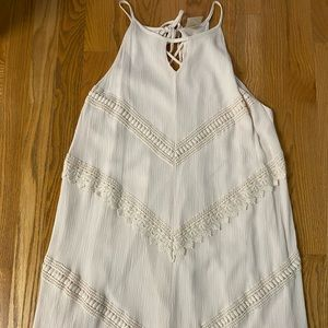 Mossimo White Boho Dress